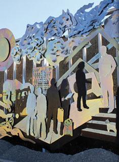 Jédelé - Sculpture : Michel Boetsch