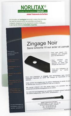 Jédelé - Norlitax et Zingage noir